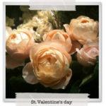 男性から女性へ花を贈る、本物のバレンタインはじめよう