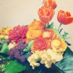 母の誕生日のお花は北白川の『MATAHARI』で