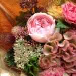 秋の誕生日のお花
