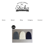 ハンドメイドのショップサイト【Sticka Handcrafted Works】をオープンしました