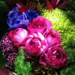 オリエンタルビューティーな花束