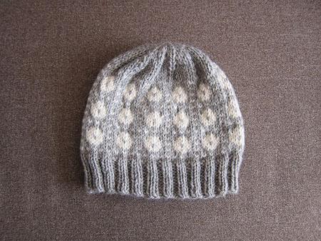 伝統柄の帽子