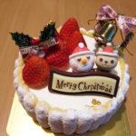 クラブハリエのクリスマスケーキ